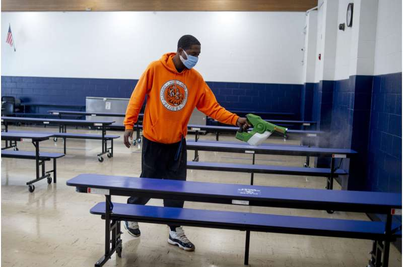 Michigan sees virus surge, but tighter restrictions unlikely