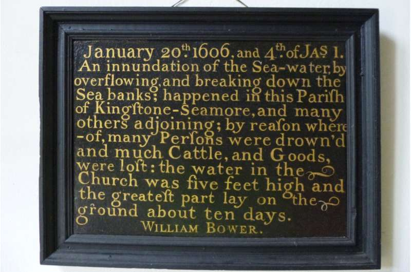 Newly transcribed chronicle describes extreme weather events that hit Bristol 400 years ago