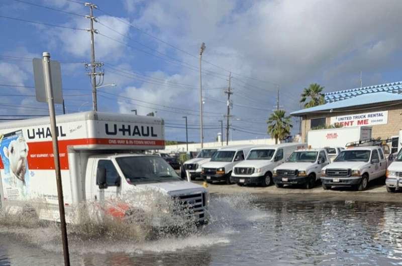 Sea-level rise drives wastewater leakage to coastal waters