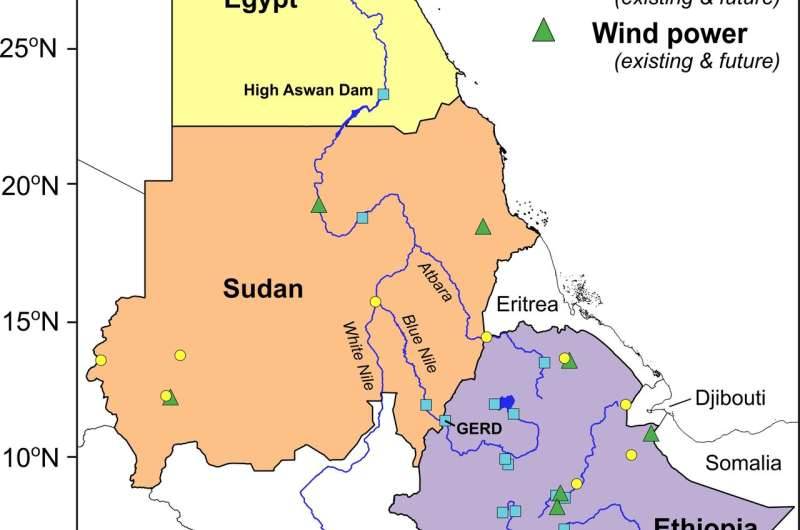 Solar and wind power could mitigate conflict in northeast Africa