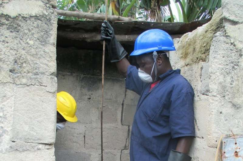 Where does untreated wastewater go in developing countries?