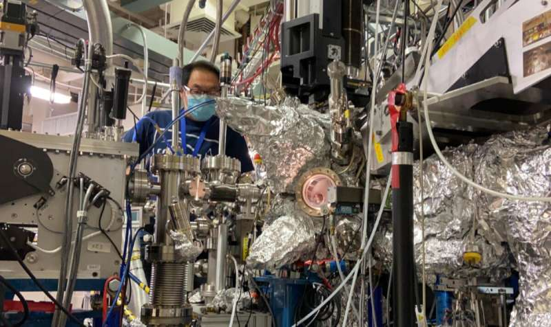 X-ray study recasts role of battery material from cathode to catalyst