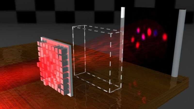 Researchers create light waves that can penetrate even opaque materials