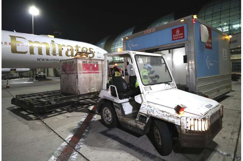 Dubai's Emirates seeks key role in global vaccine delivery