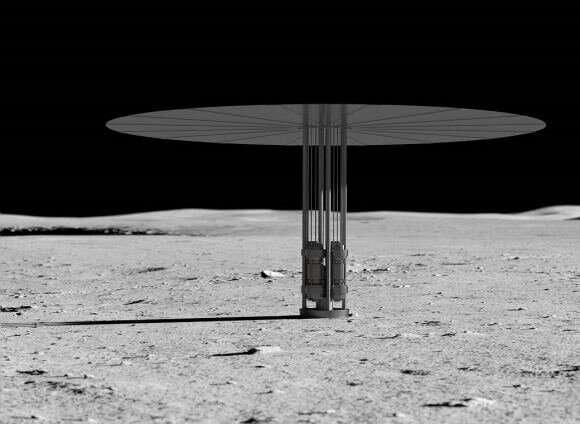 Exploring the moon's shadowed regions using beamed energy