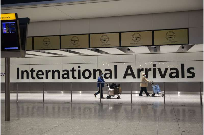 UK bans travel from 4 more nations over virus; 39 in all