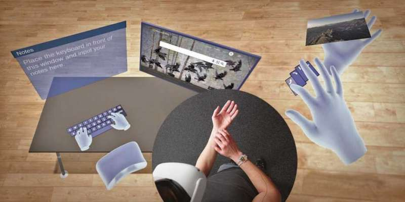 Virtual reality at your fingertips