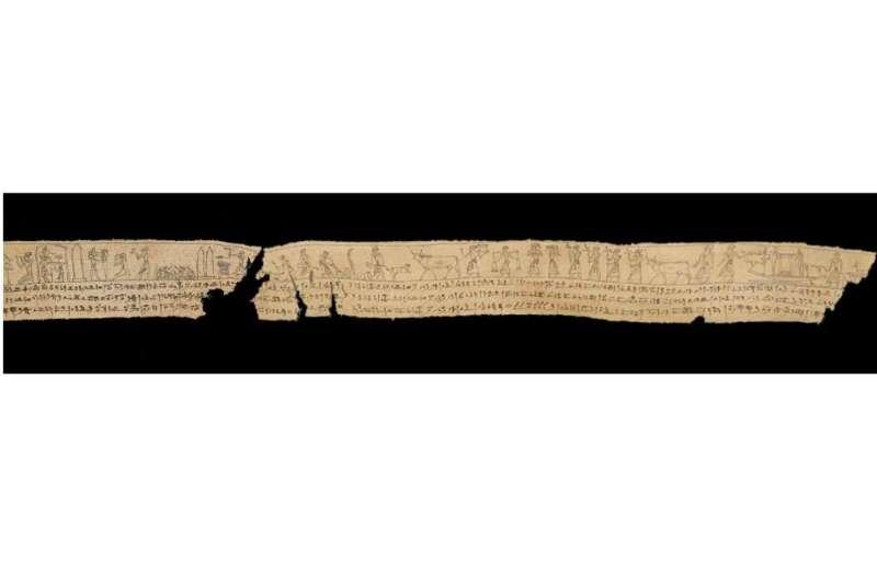 300 BCE mummy shroud fragment in NZ finds match in U.S.