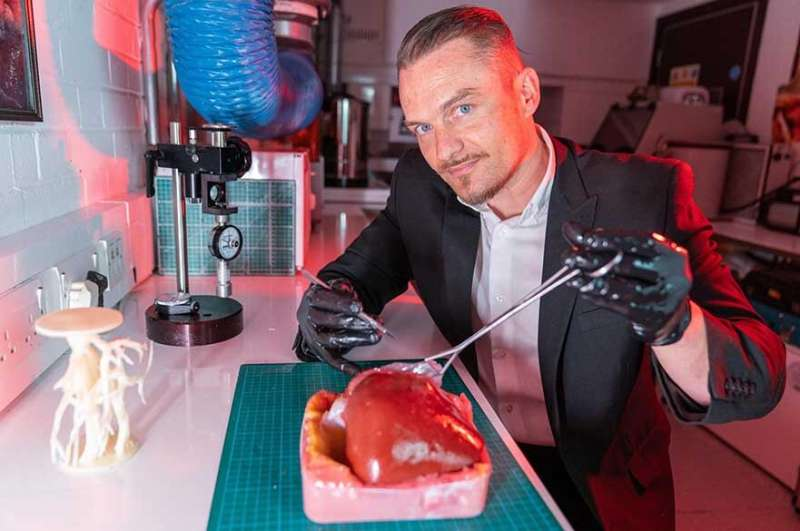 3D-printed liver to help surgeons prepare for life-saving operations