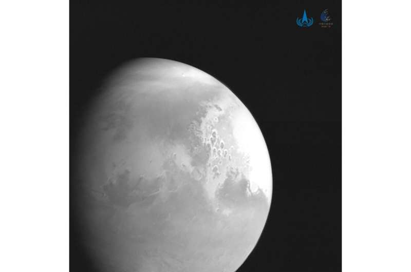 Chinese spacecraft enters Mars' orbit, joining Arab ship