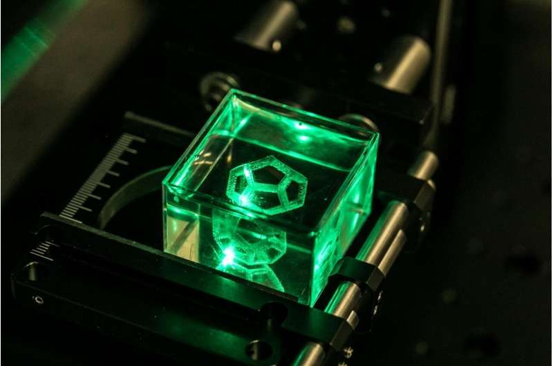 Researchers develop laser-based process to 3D print detailed glass objects