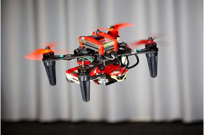How to keep drones flying when a motor fails