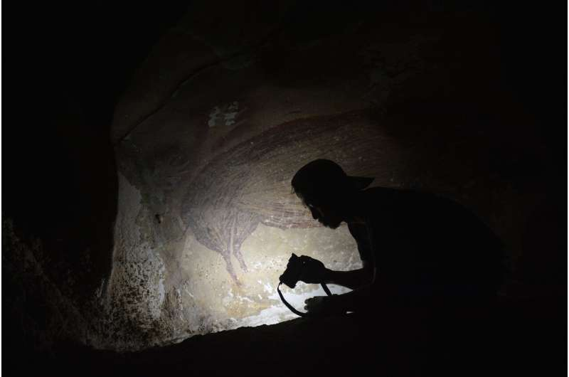 The world's oldest known cave painting is found in Indonesia