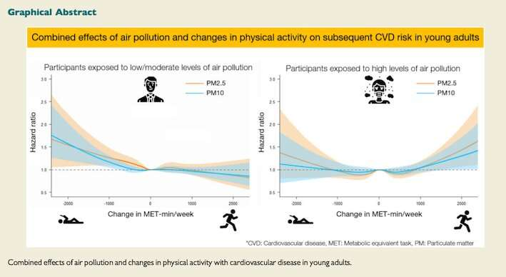 Air pollution and physical exercise: when to do more or less
