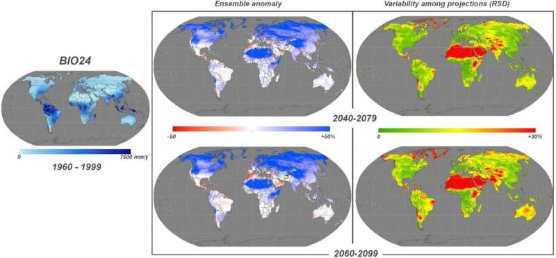 Understanding future species distribution: new data for biogeographers