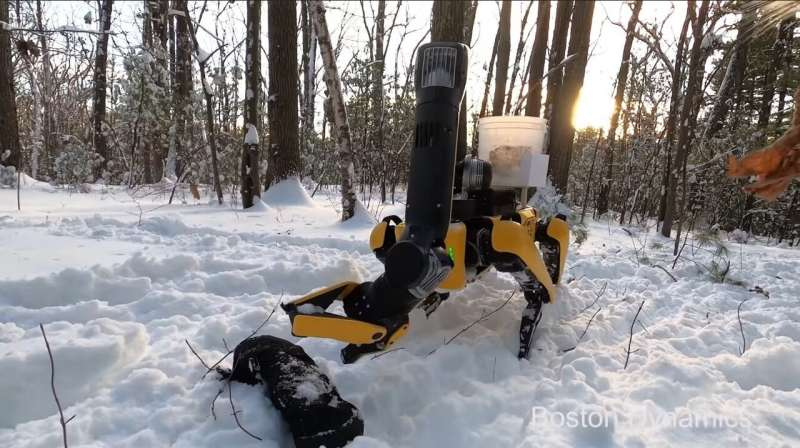 Boston Dynamics introduces self-charging robotic dog Spot