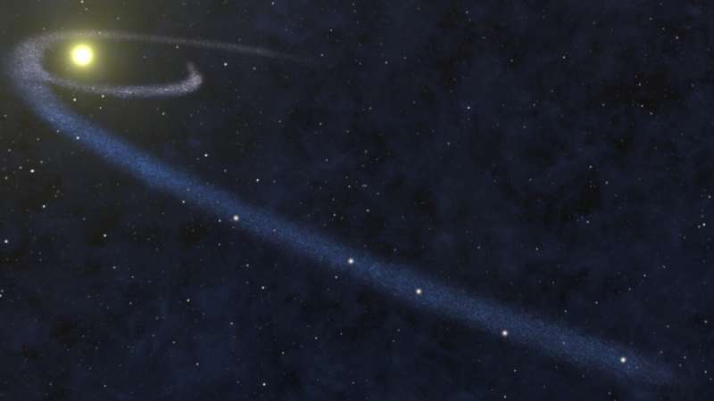 Student astronomer finds galactic missing matter