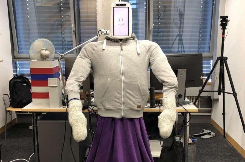 HuggieBot 2.0: Robot lembut dan seukuran manusia yang memeluk pengguna berdasarkan permintaan