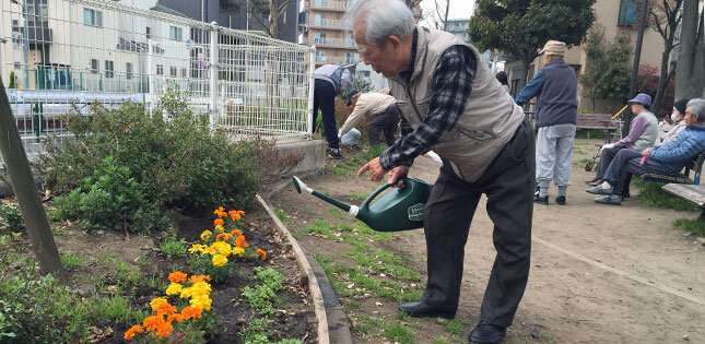 Communal activities boost rehabilitation for older adults in long term care