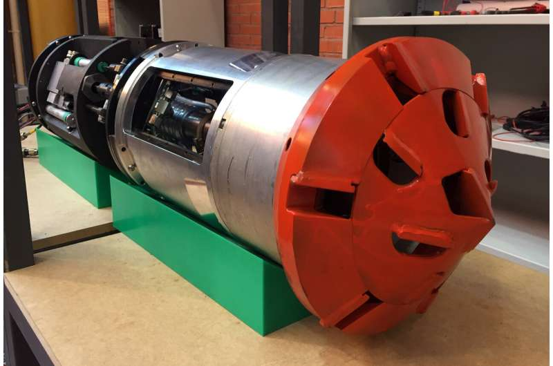 A prototype of an intelligent underground robotic system for urban environments