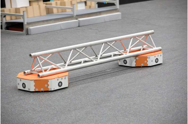 An autonomous high-speed transporter for tomorrow's logistics