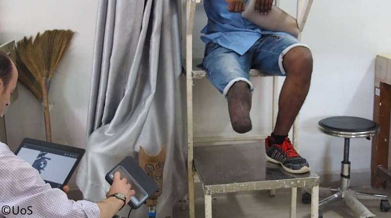 Cambodian study assesses 3D scanning technologies for prosthetic limb design