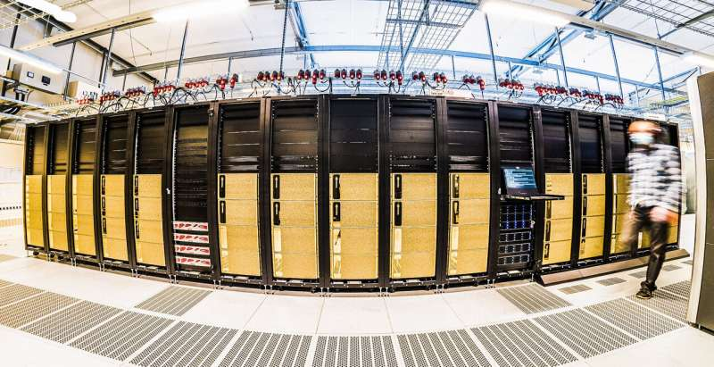 Sweden's fastest supercomputer for AI now online