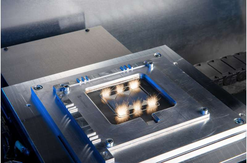 High production rates for fuel cells