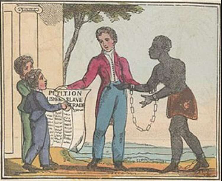 Children boycotted sugar to protest slavery and support abolitionists in 1790s-1830s