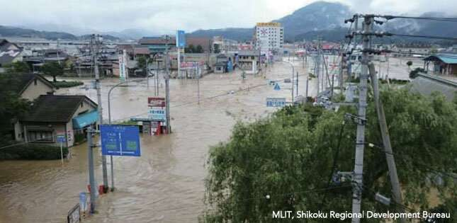 Combining news media and AI to rapidly identify flooded buildings