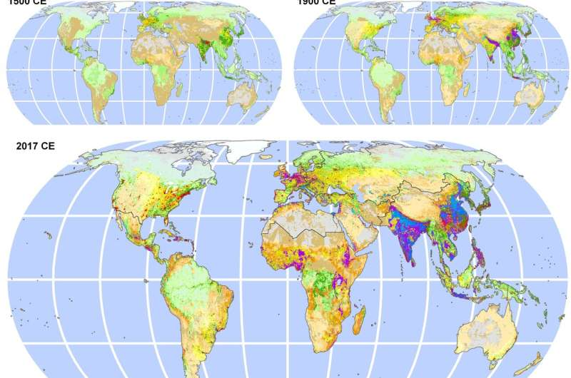 People have shaped Earth's ecology for at least 12,000 years, mostly sustainably