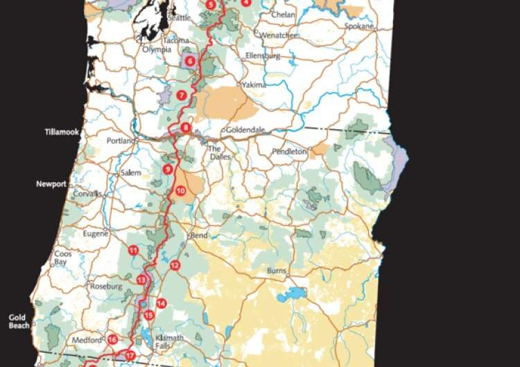 Study suggests that thru-hiking, as on the Pacific Crest Trail, might decrease vascular health