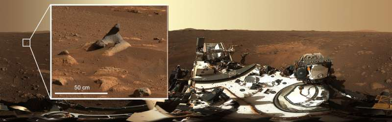 Perseverance rover gives high-definition panoramic view of landing site