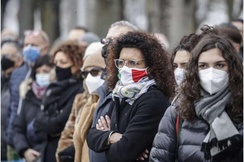 With heavy hearts, Italians mark year of COVID-19 outbreak