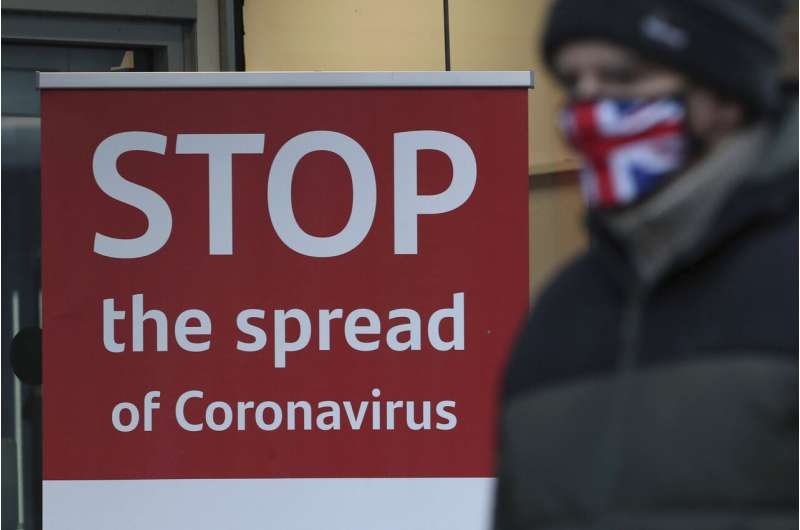 UK hospitals stagger under toll from the new virus variant