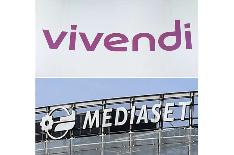 A bitter battle broke out between Mediaset, which is controlled by the family of Italy's flamboyant former prime minister Silvio