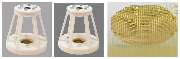 A curvy and shape-adaptive imager based on printed optoelectronic pixels