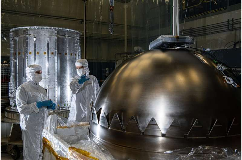 A few steps closer to Europa: spacecraft hardware makes headway