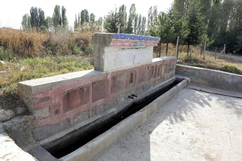 Una fuente en Akkuzulu, Turquía, queda seca por falta de lluvia
