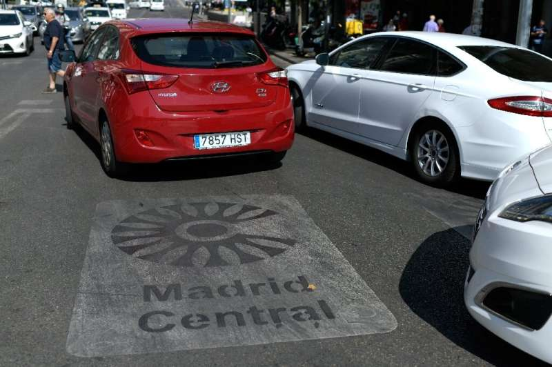A growing number of cities like Madrid are banning older vehicles from entering during periods of high pollution