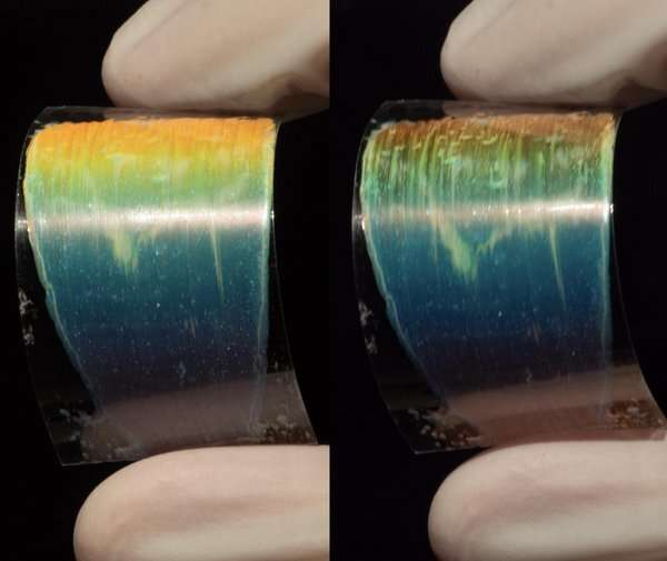 A new liquid crystal ink for 3D printing