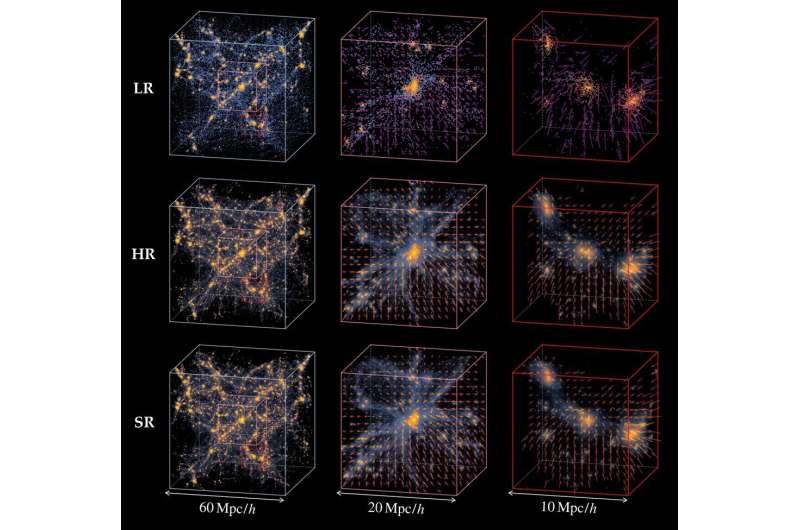 Une nouvelle méthode simule l'univers 1000 fois plus vite
