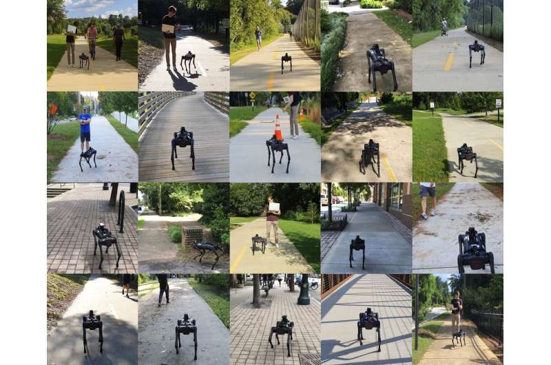A new robot that can efficiently navigate sidewalks in urban environments