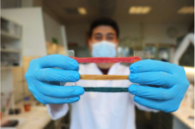 A new soft electronic material for human-machine-interfacing