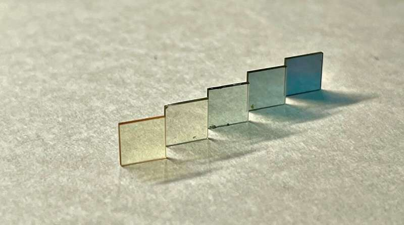 A new theory to explain the transparency of metallic oxides