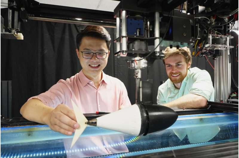 Une queue de poisson robotisée et un ratio mathématique élégant pourraient éclairer la conception des drones sous-marins de la prochaine génération