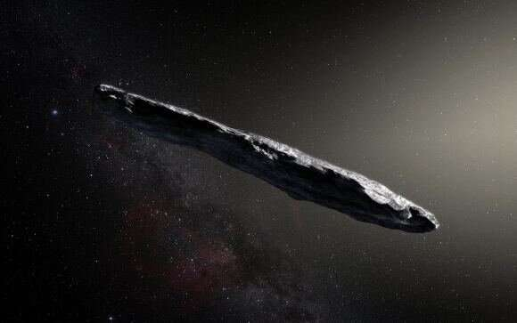 A small satellite with a solar sail could catch up with an interstellar object