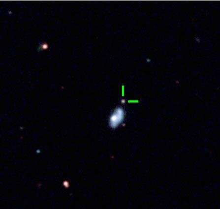 A superluminous supernova from a massive progenitor star