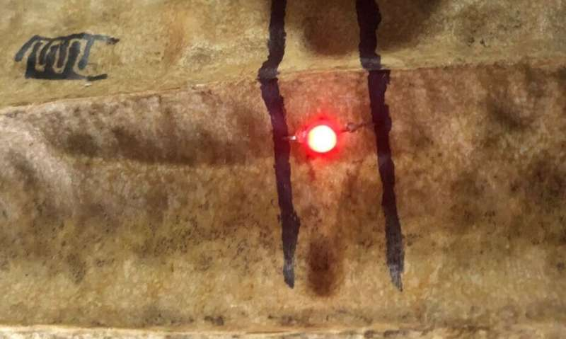A better pen-and-ink system for drawing flexible circuits