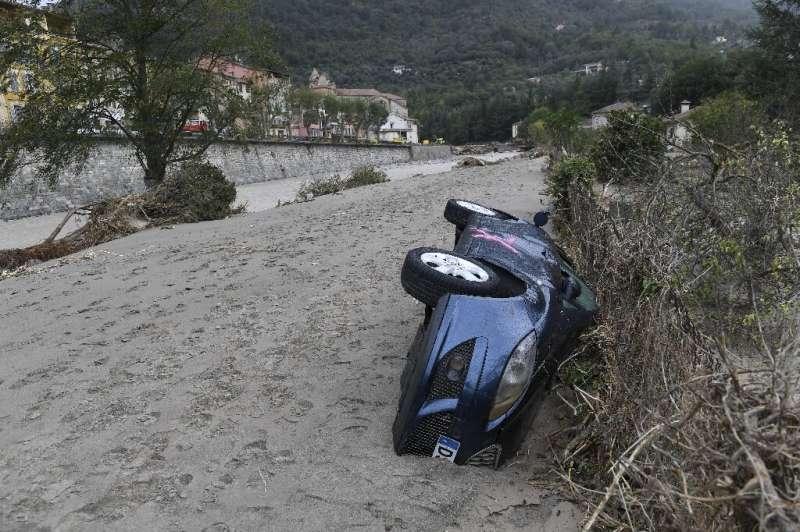 Above-average river discharge in 2020 over large parts of western Europe resulted in devastating floods